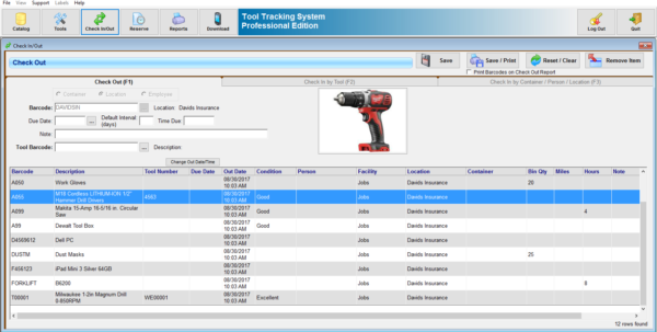 Tool Tracking System | Equipment Tracking Software Throughout Document Tracking System Excel Document Tracking System Excel Expense Spreadsheet