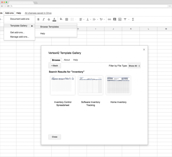 Top 5 Free Google Sheets Inventory Templates   Blog Sheetgo With Basic Inventory Sheet Template