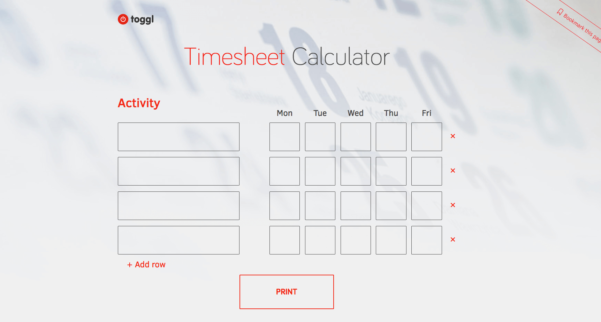 Top 5 Timesheet Calculators To Sum Up Working Hours To Timesheet Clock Calculator