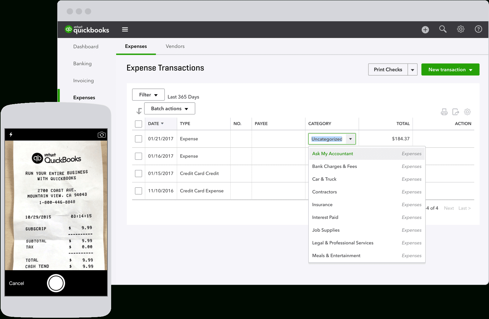 Track Expenses, Business Expense Tracking Throughout Business Expense Tracking Software