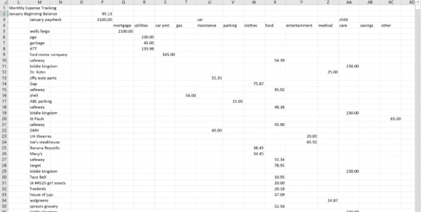 Track My Spending Spreadsheet Microsoft Excel The Spreadsheet Takes Intended For Track My Spending Spreadsheet