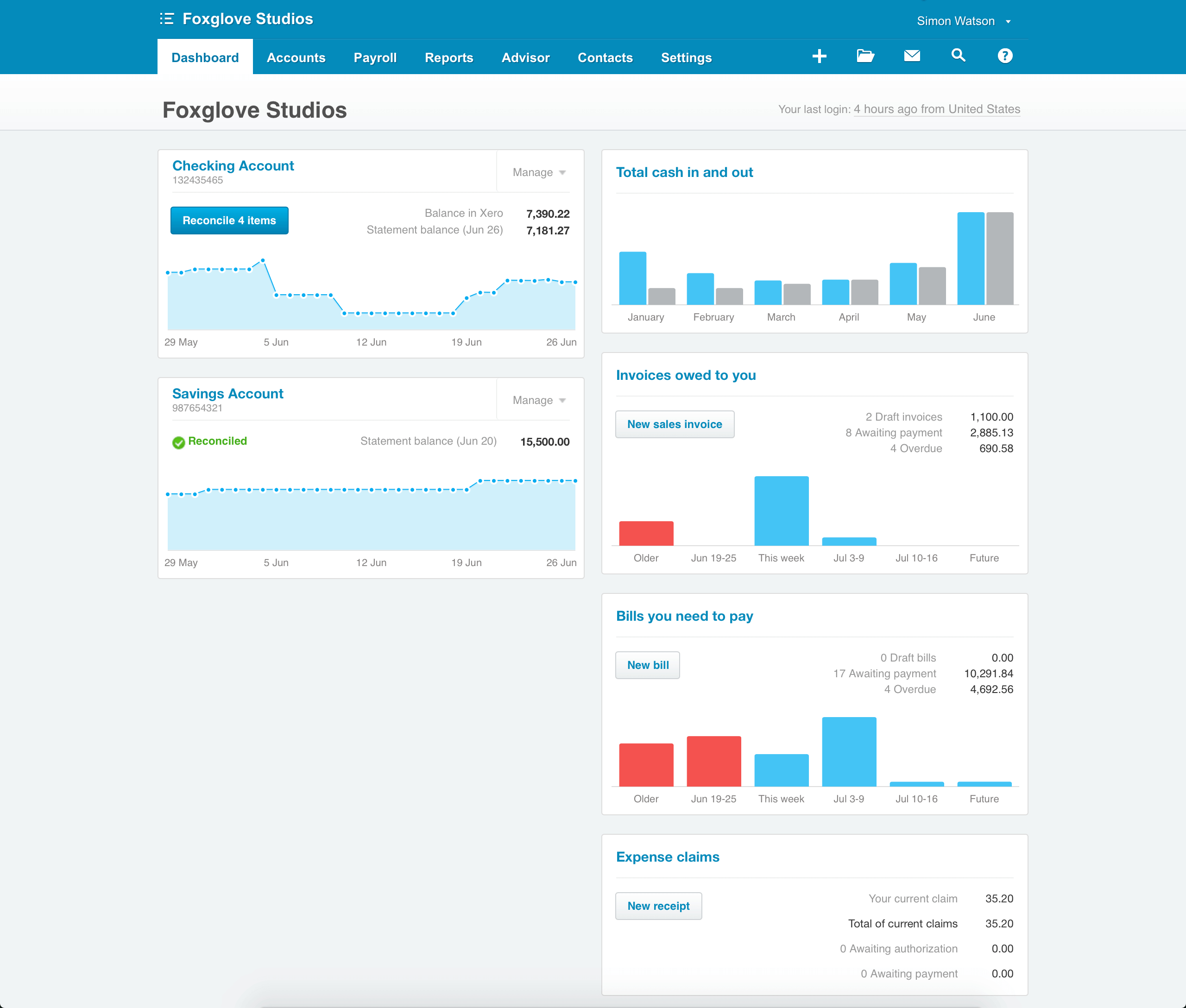 Track Small Business Cashflow Without Spreadsheets | Small Business Throughout Small Business Spreadsheet