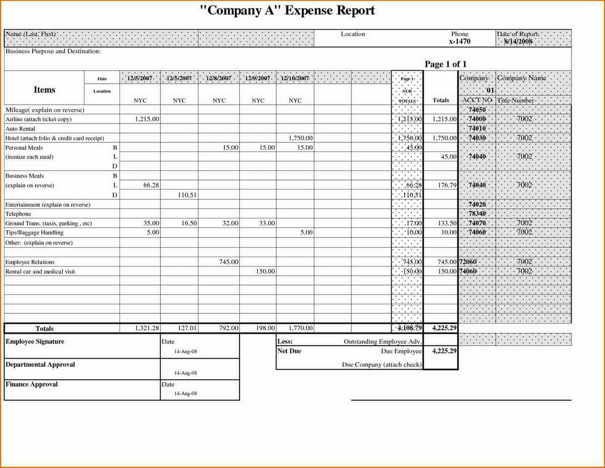 Tracking Business Expenses Spreadsheet With Tracker Monthly Business With Company Expense Report