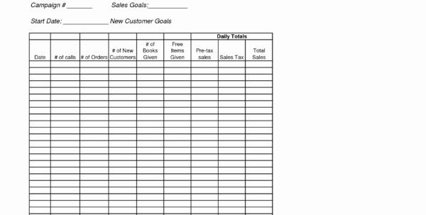 Tracking Sales Calls Spreadsheet Lovely Sales Call Tracker Template With Sales Call Tracker Spreadsheet