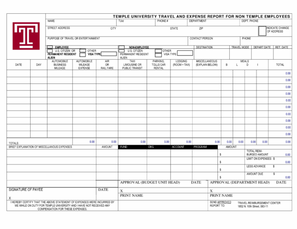 Travel Expense Report Template Excel Small Business Fresh Shefftunes Inside Business Travel Expense Report Template