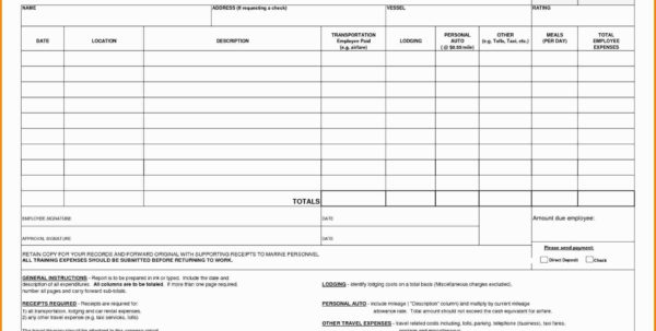 Travel Expense Sheet Template Lovely Business Trip Expenses Template In Business Travel Expense Template