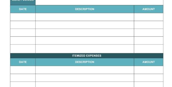 Travel Expenses Template   Durun.ugrasgrup Throughout Business Travel Expense Report Template