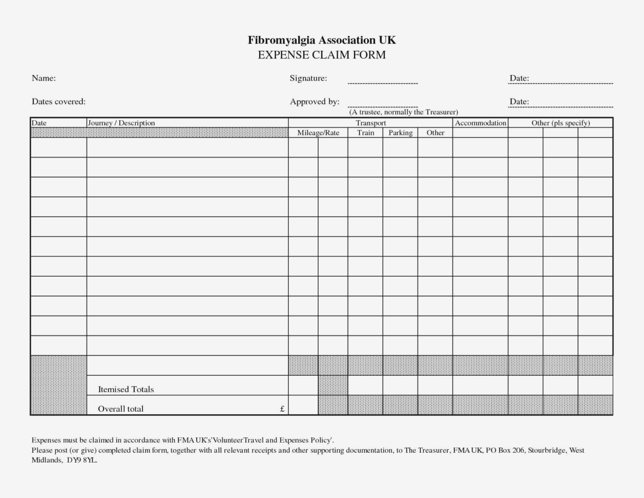 Treasurer Report Form Business Expense Log Template Save Travel With Throughout Business Expenses Form Template