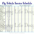 Truck Maintenance Spreadsheet And Free Vehicle Maintenance Log And Auto Maintenance Schedule Spreadsheet
