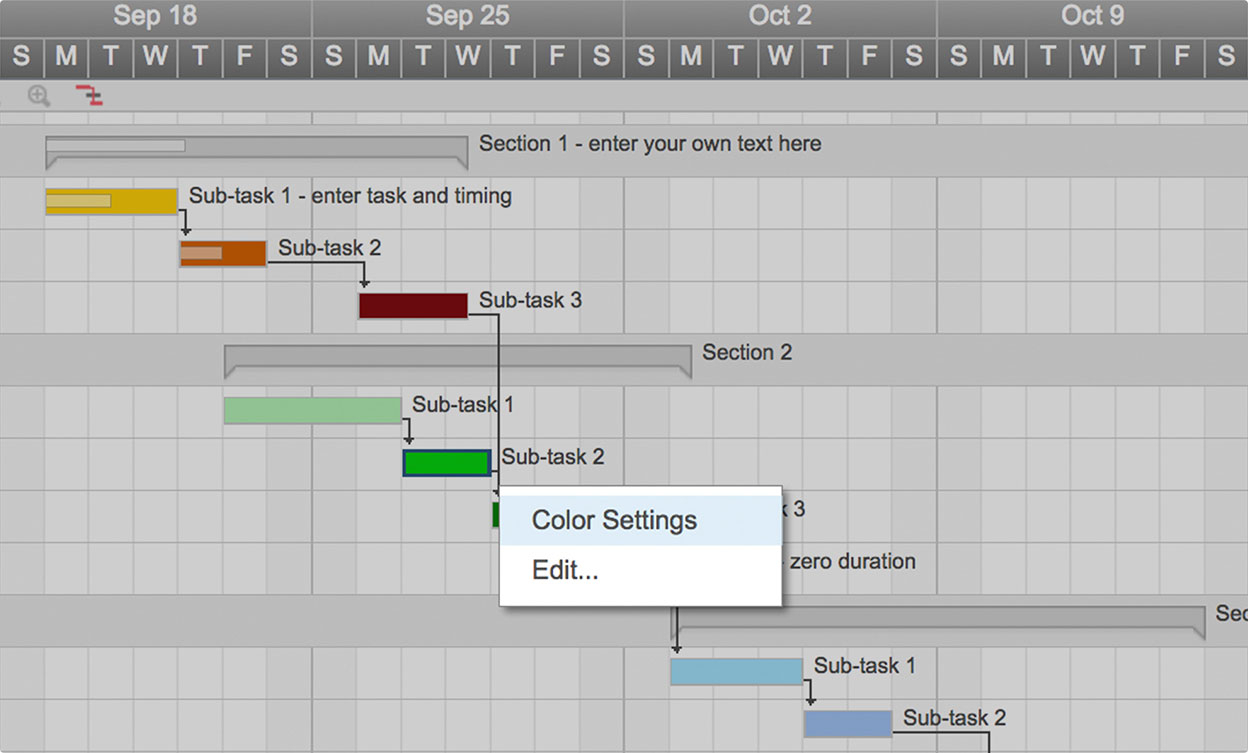 Use This Free Gantt Chart Excel Template For Gantt Chart Spreadsheet