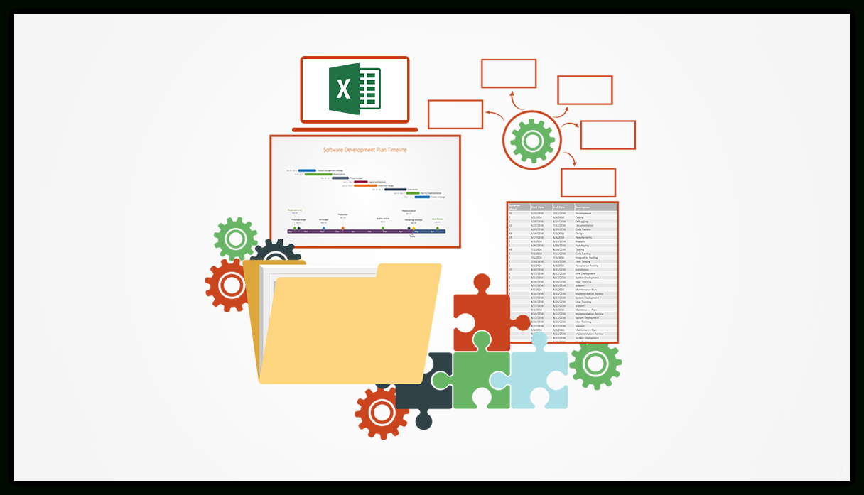 Using Excel For Project Management Intended For Excel Project Tracking Dashboard
