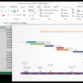 Using Excel For Project Management With Project Timeline Templates Excel