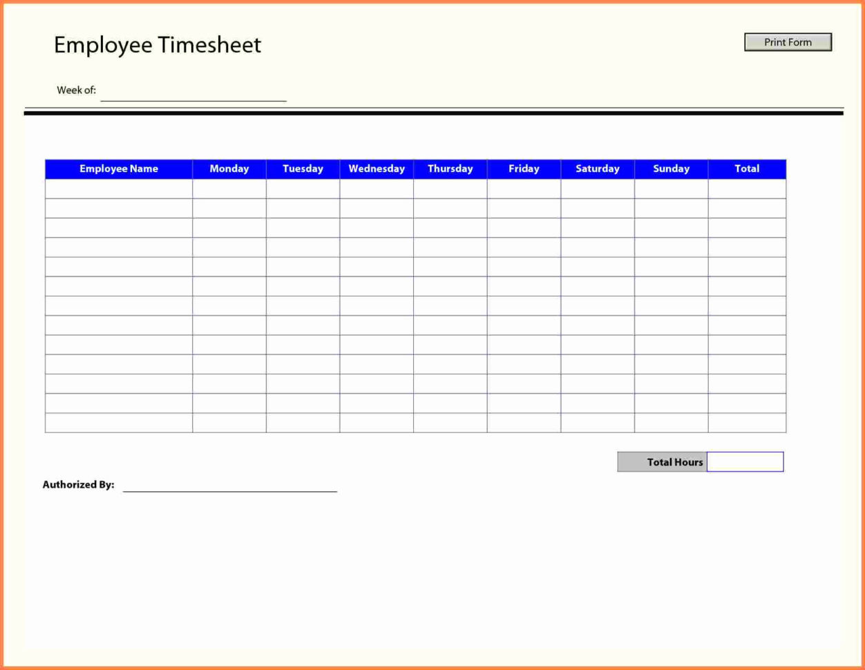 Vacation Time Tracking Spreadsheet Inspirational Time Tracking And Employee Time Tracking Excel Template