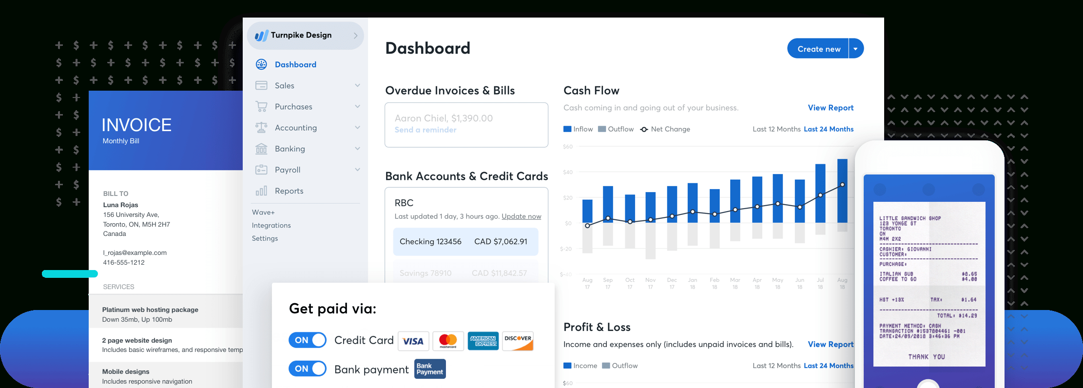 Wave Financial: Financial Software For Small Businesses Intended For Free Business Expense Software