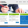 Web Design, Web Cms, Web Hosting, Personalized Domain Name Web As In Chartered Accountant Website Templates Free Download