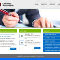 Web Design, Web Cms, Web Hosting, Personalized Domain Name   Web Bazaar And Chartered Accountants Website Templates