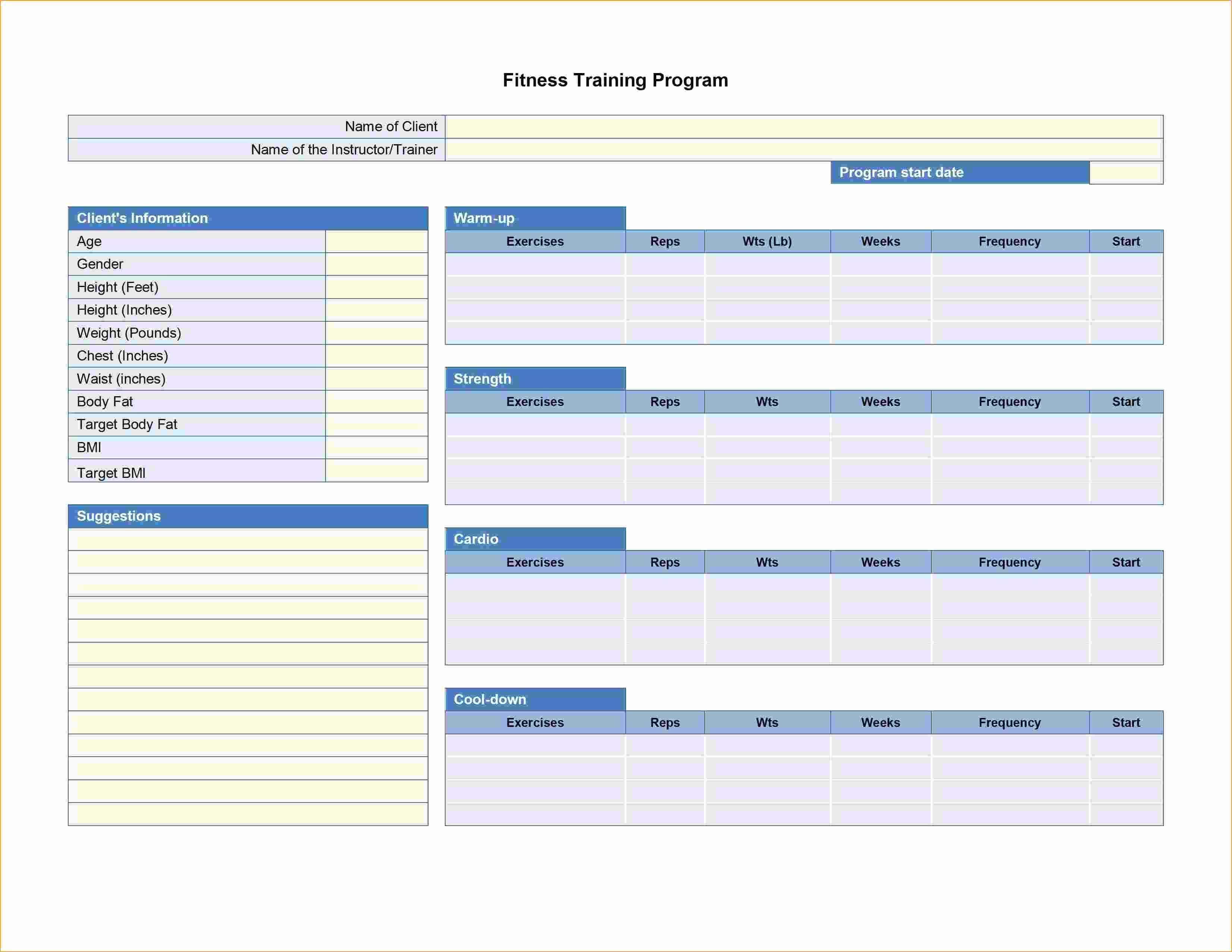 Weightlifting Spreadsheet Fresh Training Spreadsheet Template In Spreadsheet Training