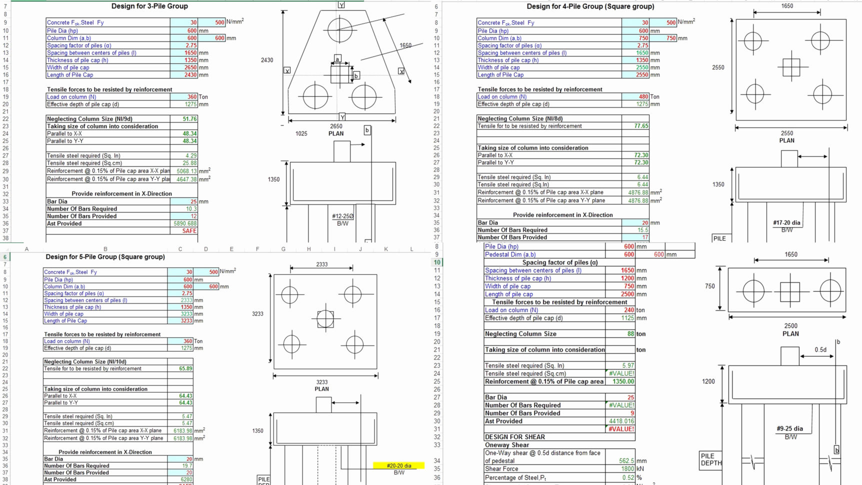 Wind Load Spreadsheet Inspirational Wind Load Calculation And Formwork Design Spreadsheet