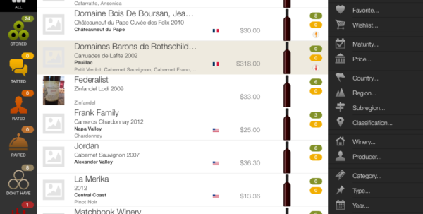 Wine Cellar Management Apps Reviewed | Techhive To Wine Cellar Inventory Spreadsheet