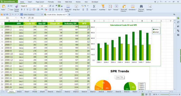 Wps Office 10 Free Download, Free Office Software   Kingsoft Office Within Free Spreadsheet Downloads