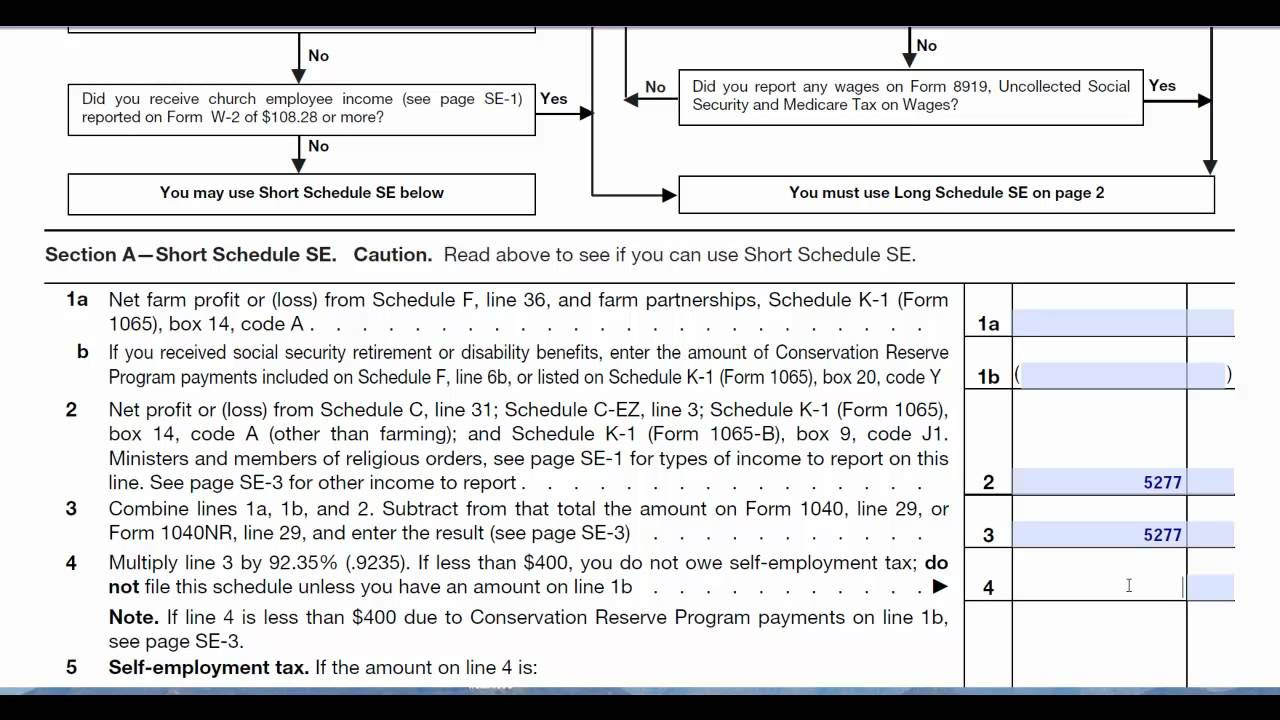 1040 Es Spreadsheet Inside Tax2011Irs F1040Sse 20111016 Page 2 Self Employment Tax Form