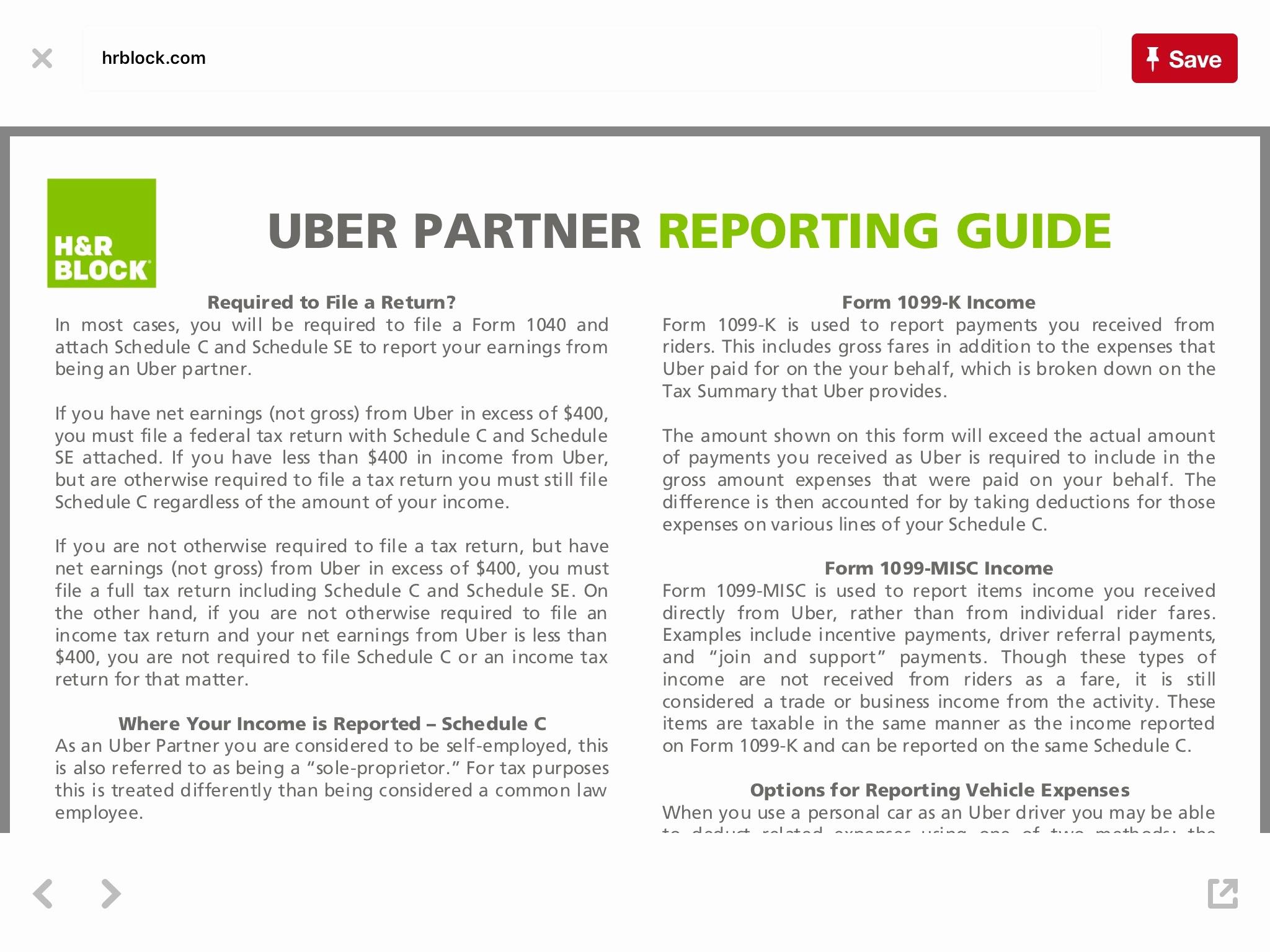 1099 expense spreadsheet for uber driver spreadsheet