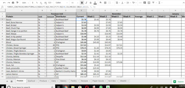 13 Column Spreadsheet Throughout Google Sheets Automatically Update New Row With Formula  Stack Overflow