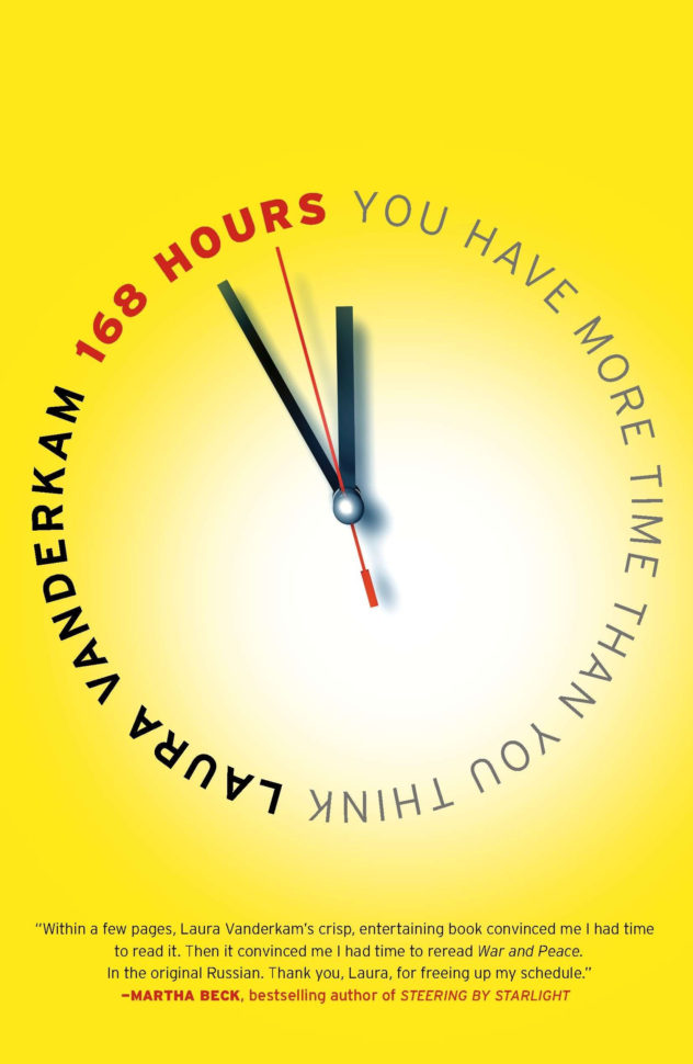 168 Hours Spreadsheet For 168 Hours: You Have More Time Than You Think —Laura Vanderkam