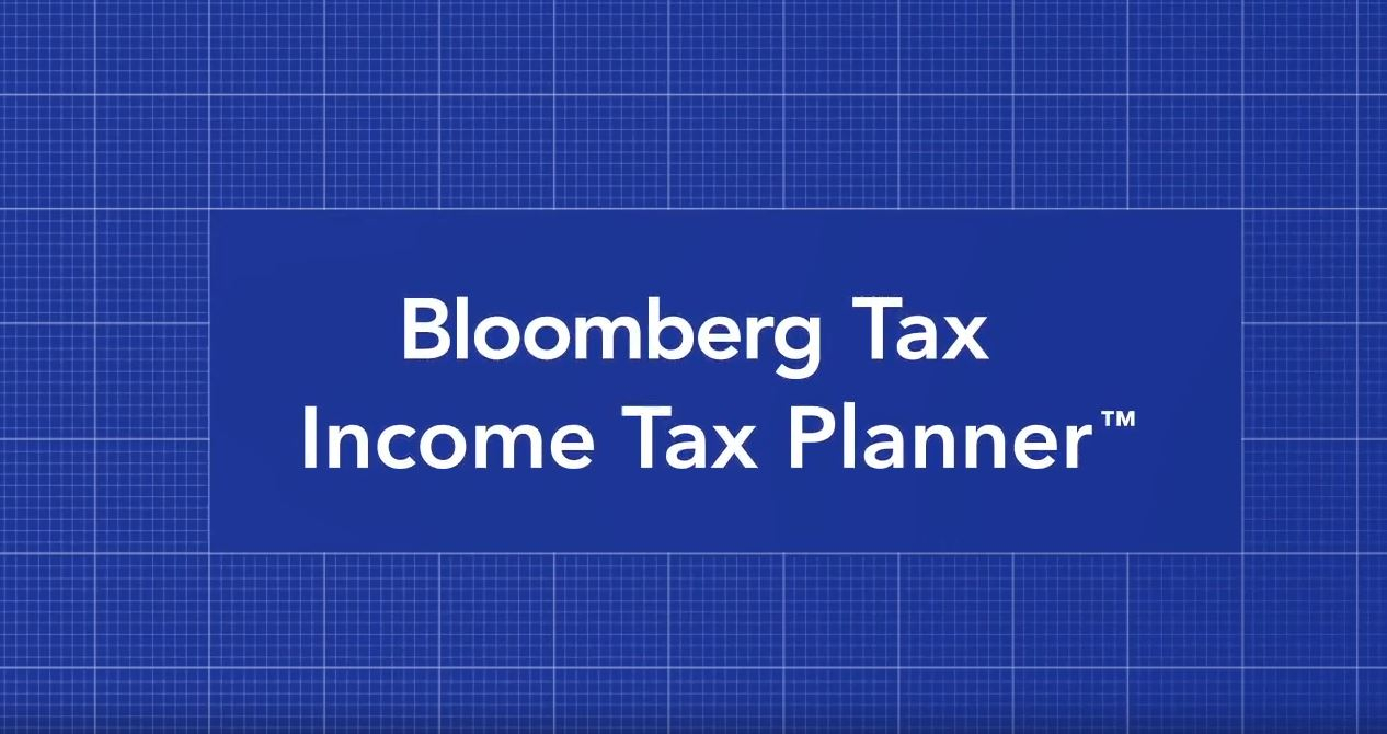 2017 Tax Planning Spreadsheet With Regard To Income Tax Planner  Bloomberg Tax