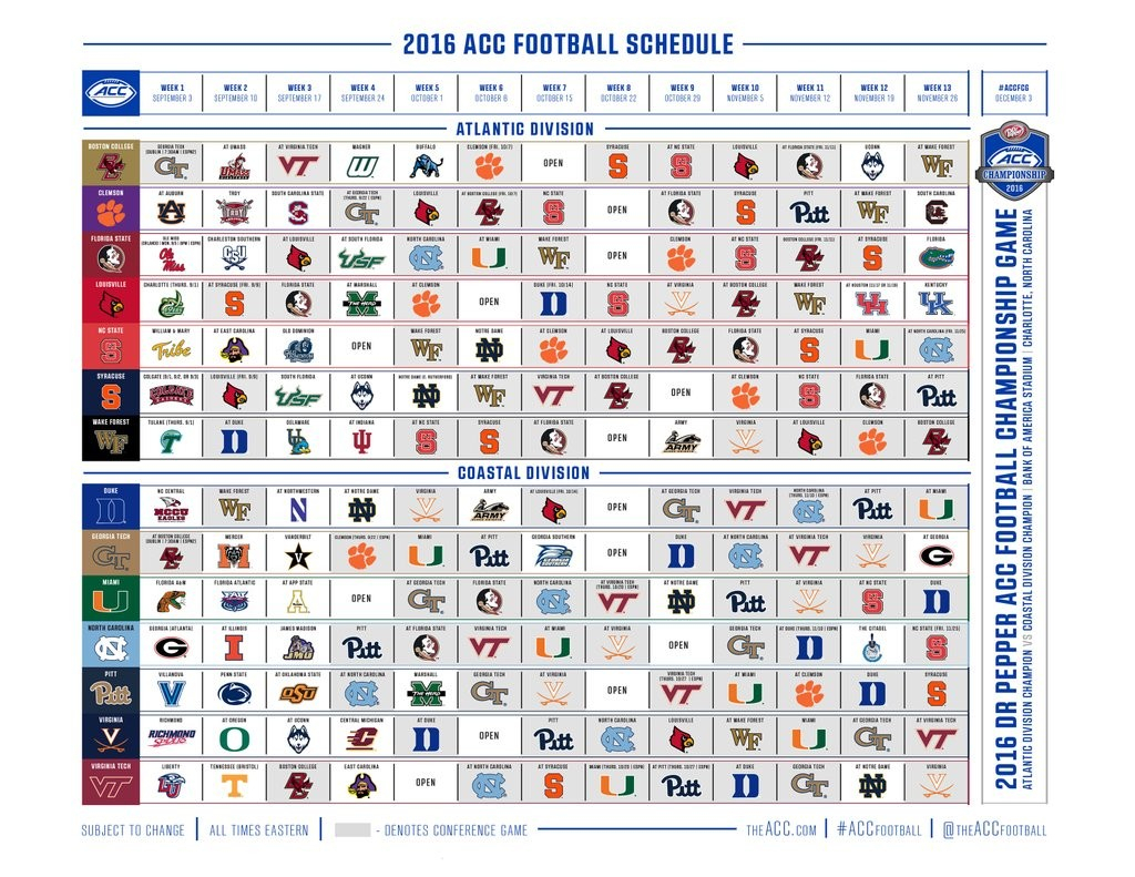 2018 College Football Schedule Excel Spreadsheet Regarding College Football Schedule — Latest News, Images And Photos