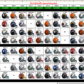 2018 Excel Spreadsheet Of Nfl Schedule Pertaining To Nfl Schedule Spreadsheet New Nfl Schedule 2018 Photos Jen Hill