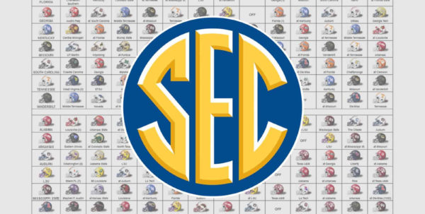 2018 Fbs Schedule Spreadsheet In 2018 Sec Football Helmet Schedule