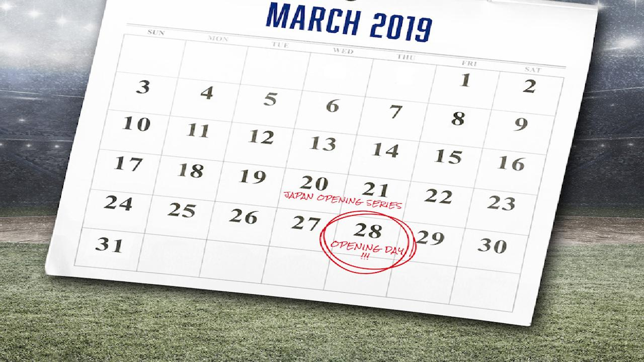 2018 Mlb Schedule Spreadsheet For 2019 Mlb Schedule Highlights  Mlb