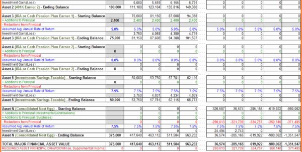 2018 Tax Planning Spreadsheet Inside Tax Planning Spreadsheet And 10 Retirement Planning Spreadsheet