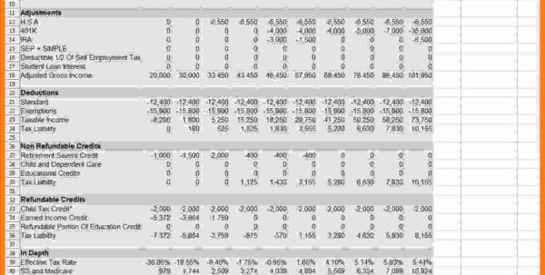 2018 Tax Planning Spreadsheet Throughout 9  Retirement Planning Spreadsheet  Balance Spreadsheet