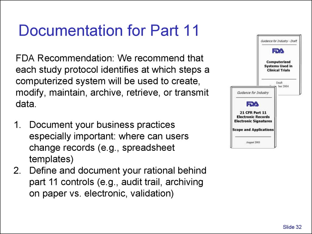21 Cfr Part 11 Compliance For Excel Spreadsheets Pertaining To Validation And Use Of Exce Spreadsheets In Regulated Environments