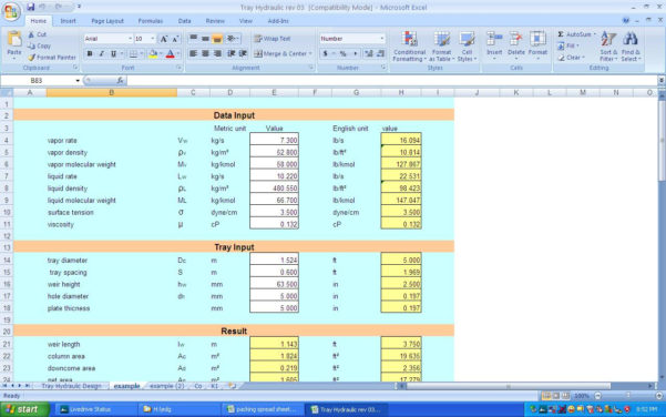 3 Phase Separator Sizing Spreadsheet Inside Welcome To Klm Technology Group  Engineering Design Guidelines