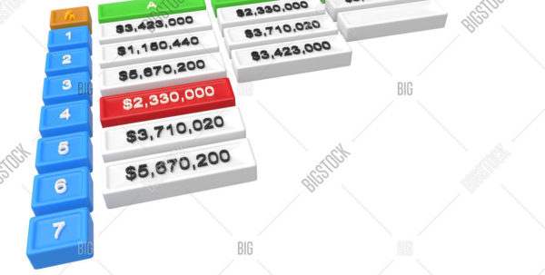3D Spreadsheet Regarding 3D Spreadsheet One Image  Photo Free Trial  Bigstock