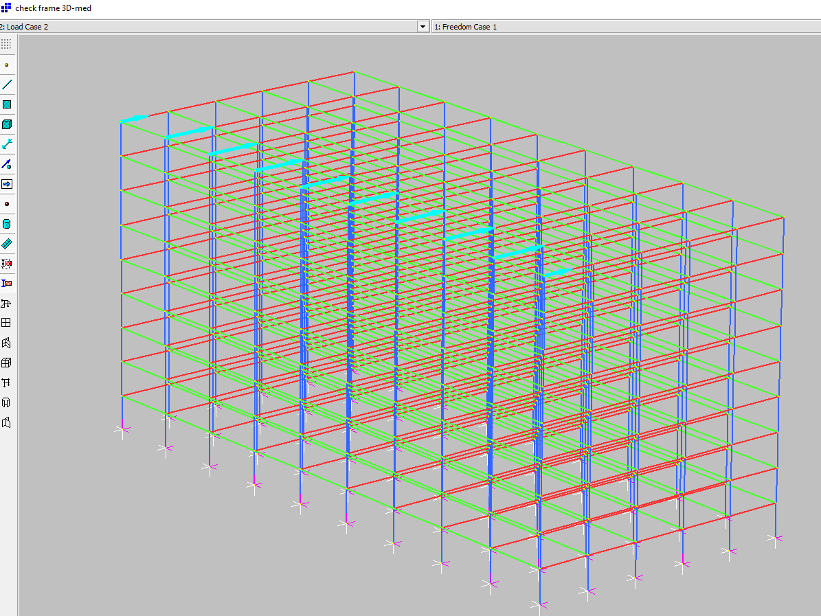 3D Spreadsheet Within Nonlinear Frame Analysis  Newton Excel Bach, Not Just An Excel Blog