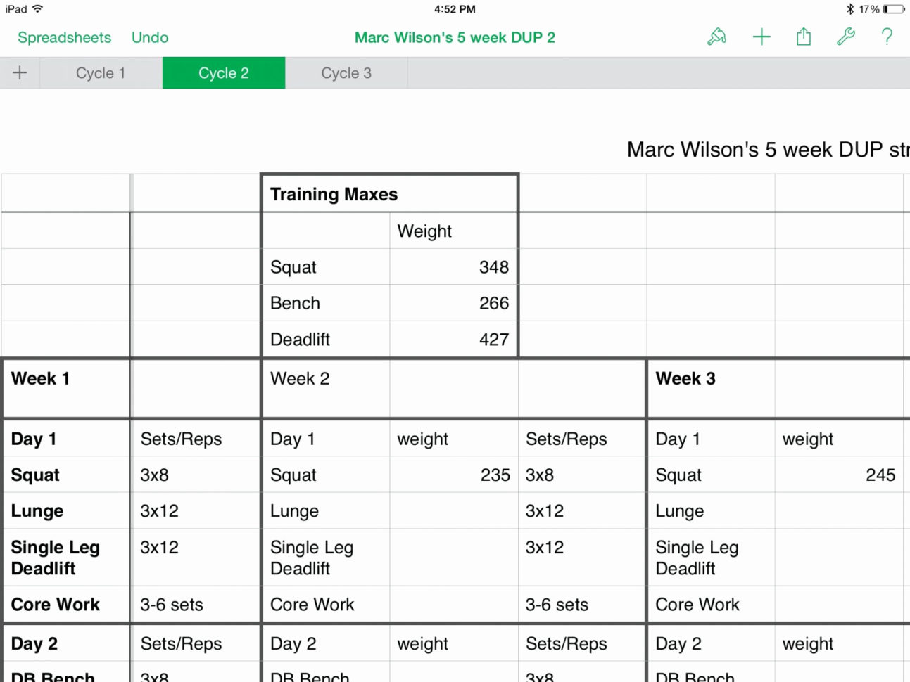 3X3 Powerlifting Spreadsheet Throughout 50 New Juggernaut 2.0 Excel Spreadsheet  Document Ideas  Document