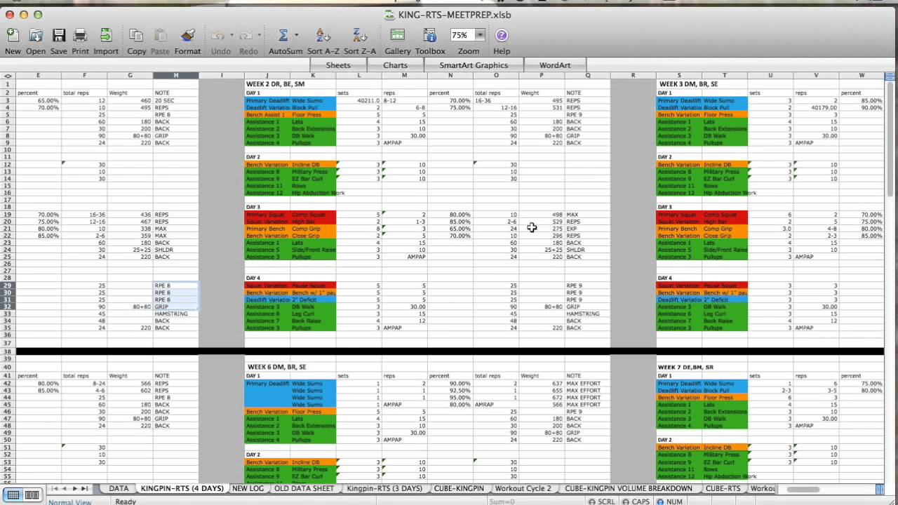 3X3 Powerlifting Spreadsheet Within Maxresdefault Powerlifting Spreadsheet Kingpin Rts Program