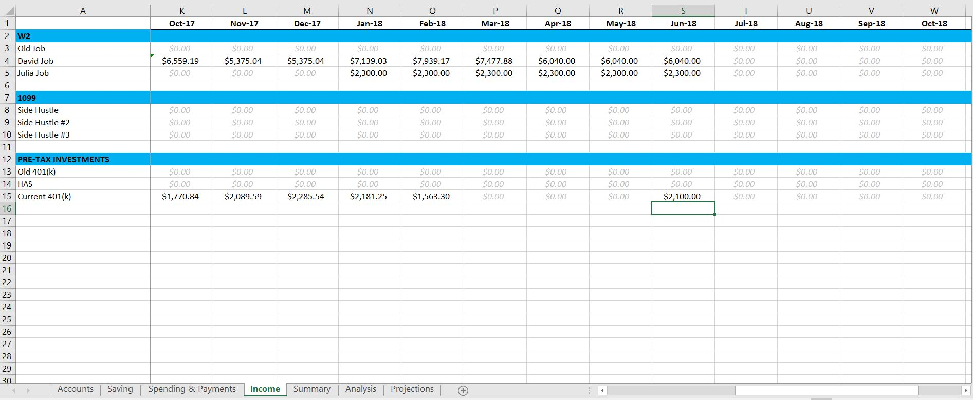 401K Projection Spreadsheet Inside Spreadsheets  Zero Day Finance 401K Projection Spreadsheet Google Spreadshee Google Spreadshee 401k projection spreadsheet