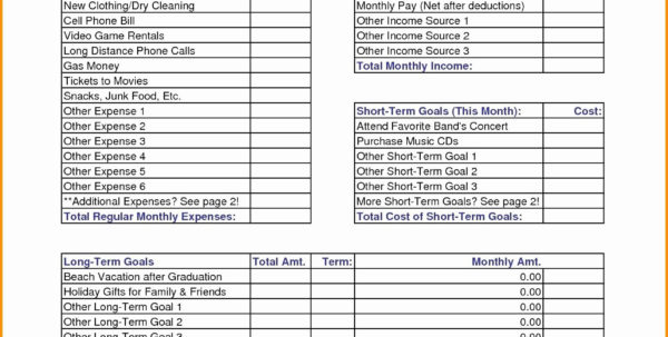 50 20 30 Rule Spreadsheet With 50 30 20 Budget Excel Template  Readleaf