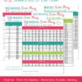52 Week Savings Plan Spreadsheet For 52 Week Savings Plan Spreadsheet  Spreadsheet Collections