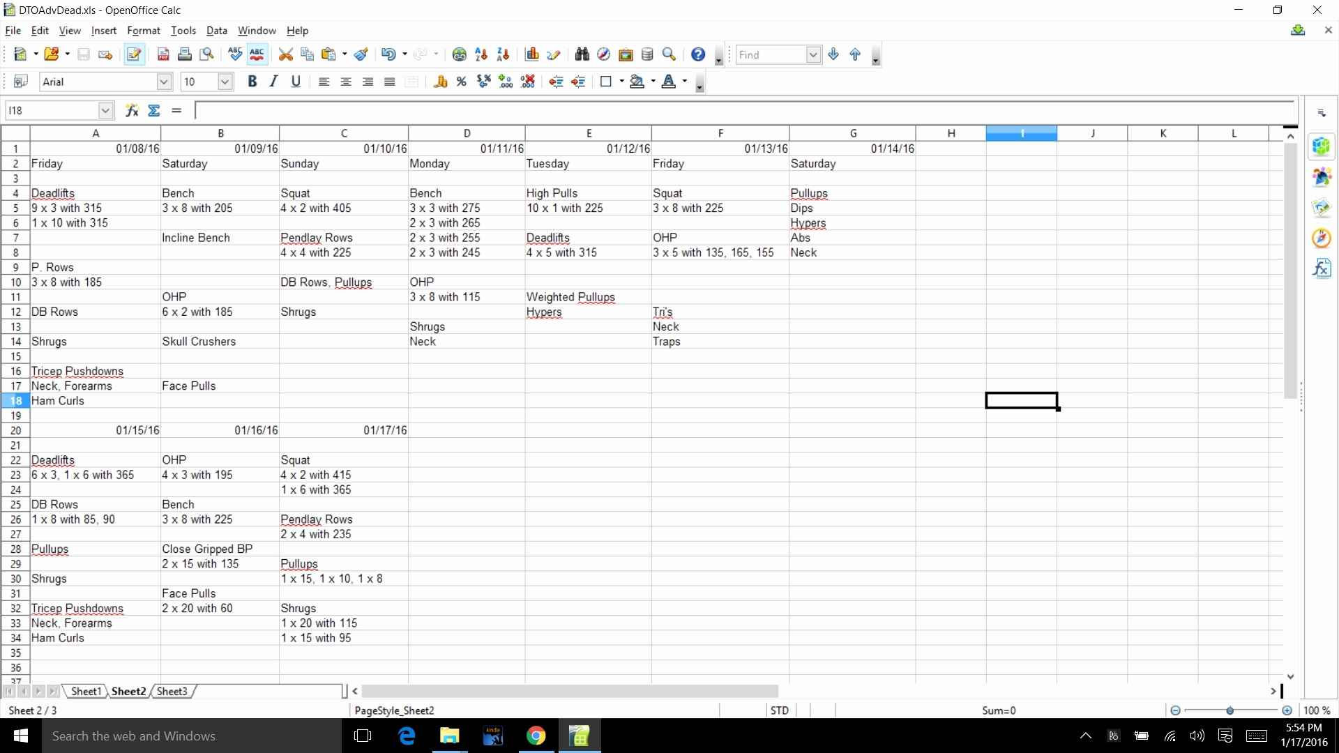 5X5 Workout Routine Spreadsheet With Regard To Strongliftsheet Sheet Bodybuilding And Pdf Haisume 5X5  Askoverflow