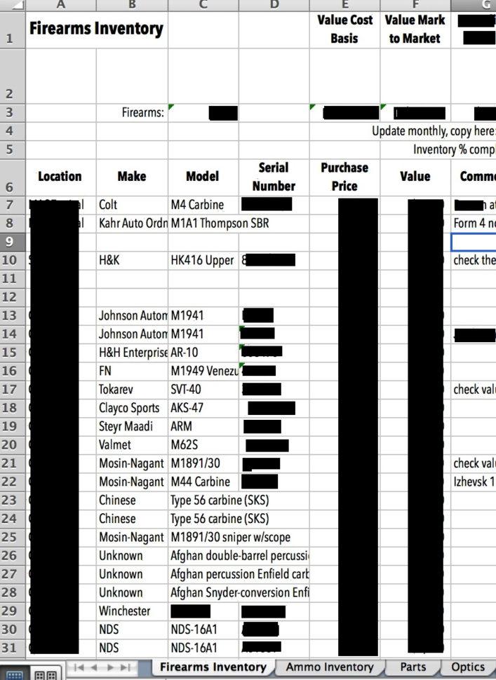 5X5 Workout Spreadsheet Within Gun Inventory Spreadsheet As Stronglifts 5X5 Daykem Org Sheet Debt