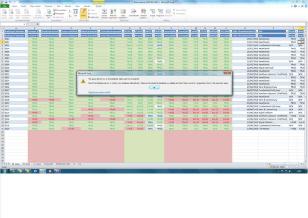 Aat Level 3 Spreadsheets Pertaining To Error When Connecting An Access Query To An Excel Sheet Expression