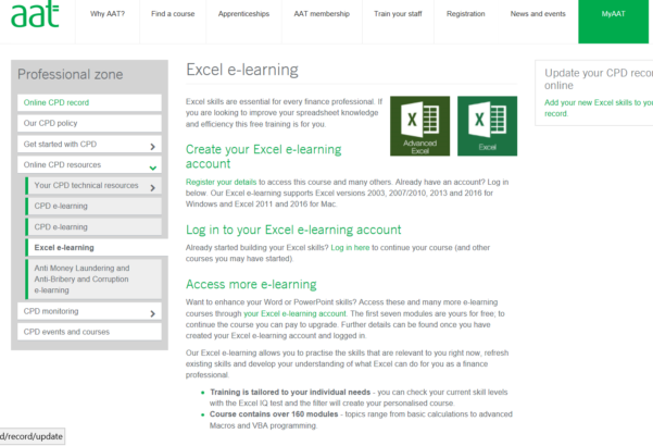 Aat Level 3 Spreadsheets With Regard To Aat Module Or Excel Course — Aat Discussion Forums