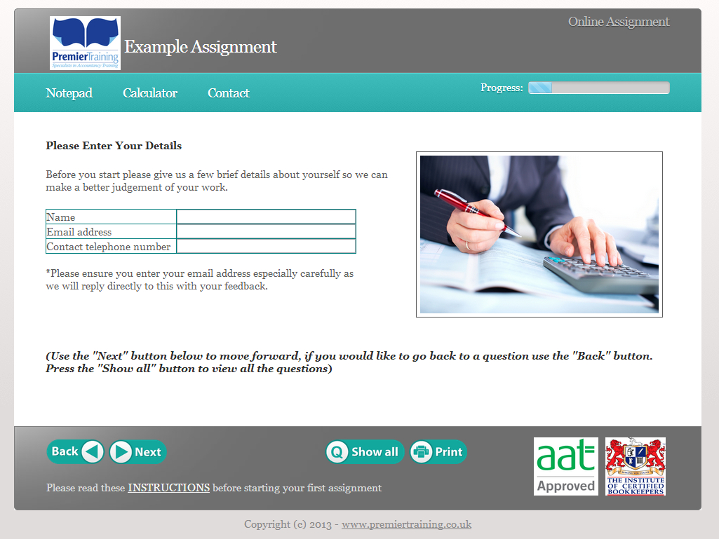 Aat Spreadsheet Exam Regarding Aat Level 3 Diploma In Accounting Distance Learning Course