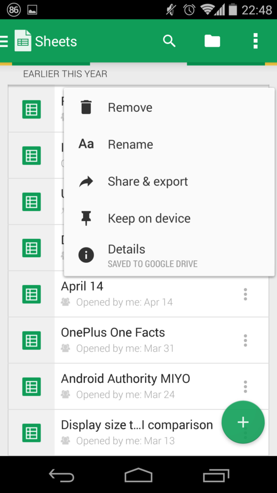 Ability Spreadsheet In Google Docs And Sheets Get Big Updates With New Ui, Ability To